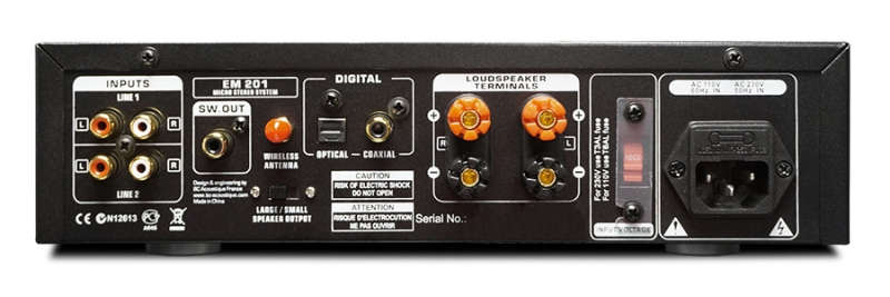 EM-201 Amplificatore stereo compatto 2X35W � Bluetooth