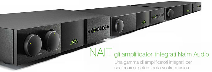 Amplificatori Integrati Naim