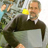 Ken Palmer - engineering co-ordinator